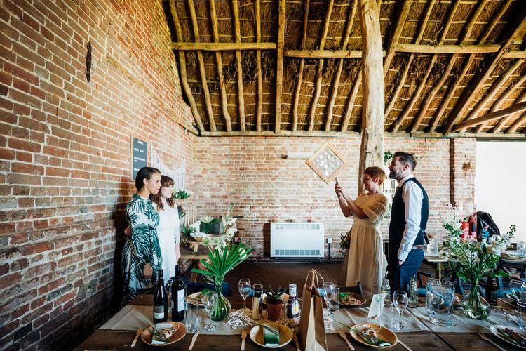 Bohemian Wedding at Woodfarm Barn, Suffolk | The Steed Photography