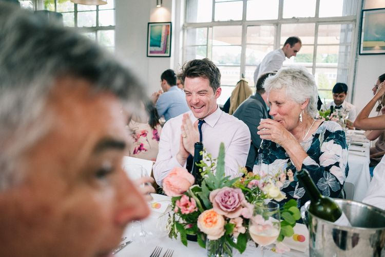Peach & Mint Intimate Wedding Ceremony at the Asylum & Art Deco Reception at Brockwell Lido, London | Babb Photo