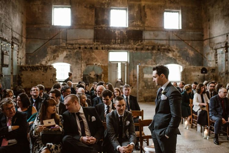 Wedding Ceremony At Asylum London   Image by Ellie Gillard Photography