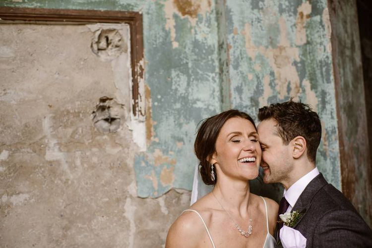 Bride & Groom   Wedding Ceremony At Asylum London   Image by Ellie Gillard Photography