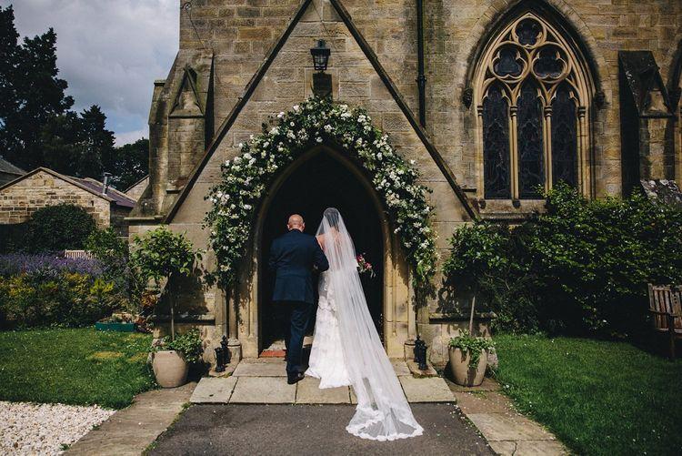 Church Bridal Entrance