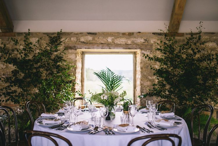Greenery Table Scape