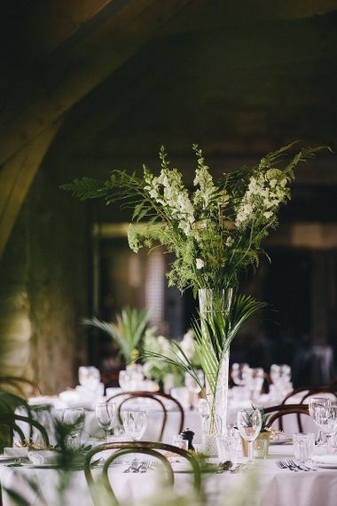 Tall Greenery Floral Centrepiece