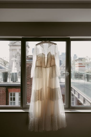 Dress from House of Vintage UK   Hoxton Hotel Wedding   Images by Millar Cole