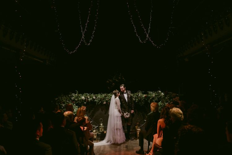 Ceremony   Hoxton Hotel Wedding   Images by Millar Cole