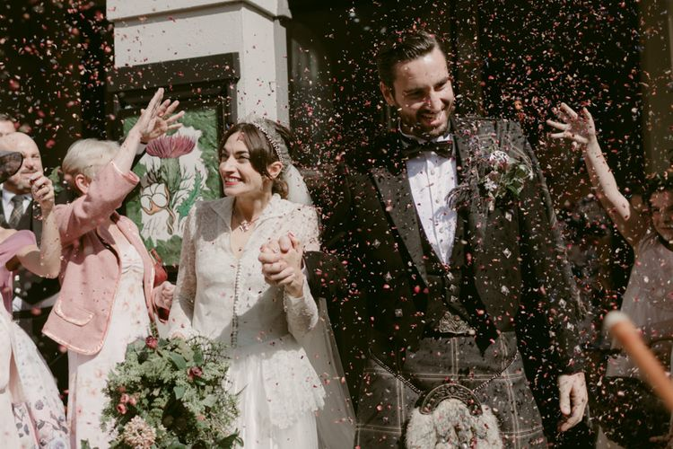 Confetti   Hoxton Hotel Wedding   Images by Millar Cole