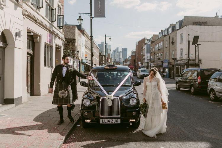 Transport by Corporate Cabs   Hoxton Hotel Wedding   Images by Millar Cole