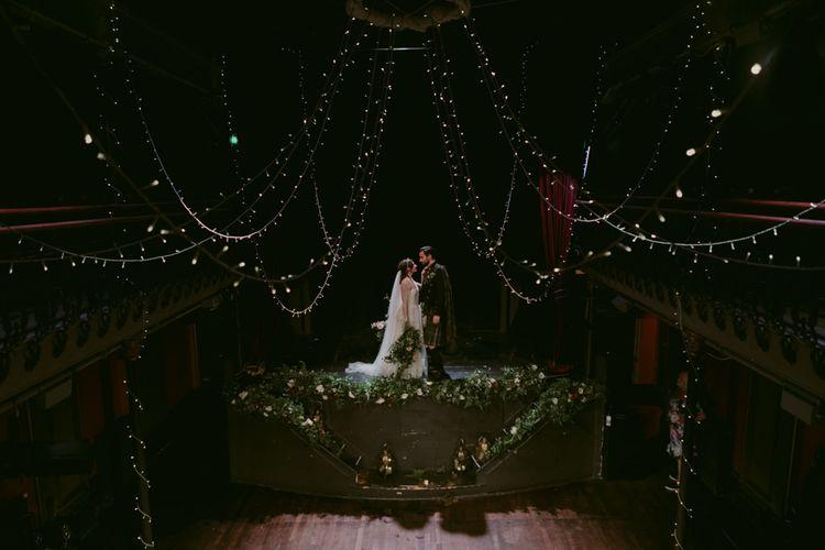 Foliage Folk Ceremony Flowers   Hoxton Hotel Wedding   Images by Millar Cole