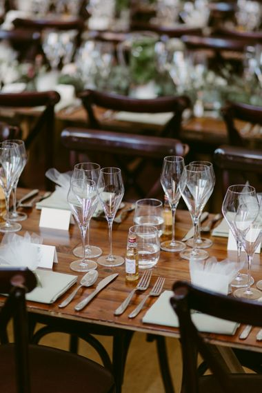 Table Decor   Hoxton Hotel Wedding   Images by Millar Cole