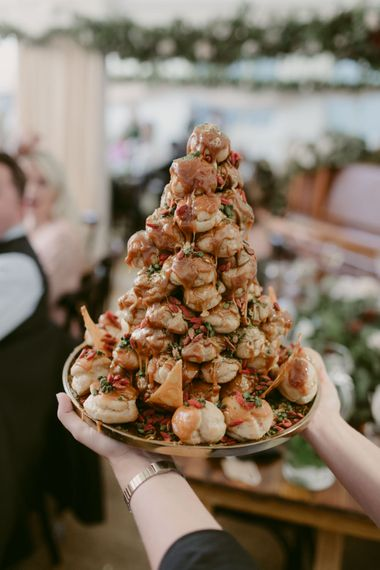 Catering by the Social Pantry   Hoxton Hotel Wedding   Images by Millar Cole