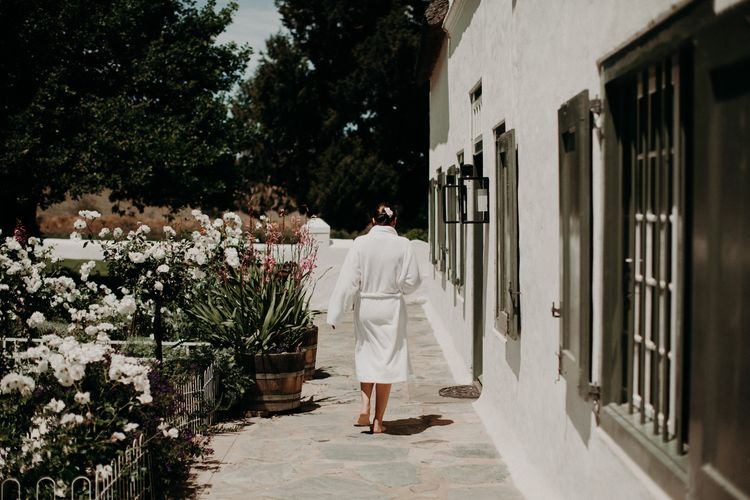 Wedding Morning Preparations | Stylish Outdoor Wedding at The Oaks Estate, Greyton, South Africa | Fiona Clair Photography | Ebert Steyn Films