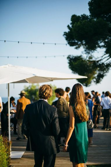 Wedding Guests at Casa del Mar Villa in Spain