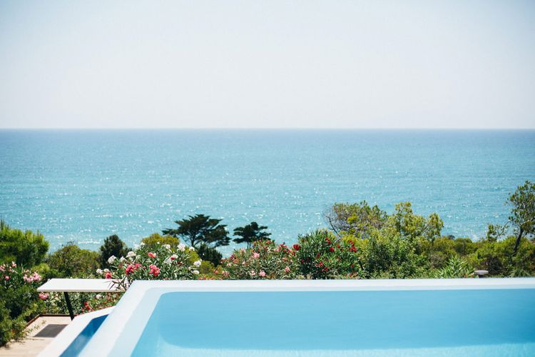 Infinity Pool at Casa del Mar Spanish Villa