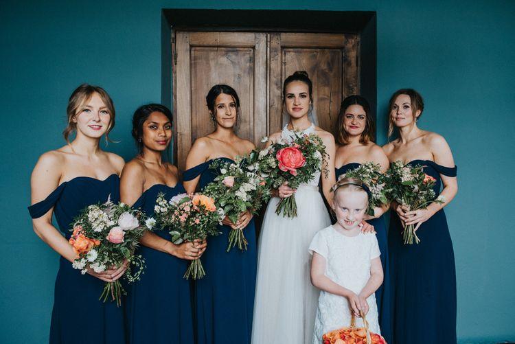 Bride & Bridesmaids | Bridal Party