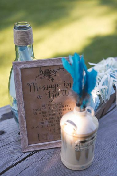 Message in a Bottle Wedding Guest Books