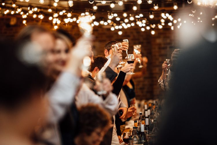 Vintage Inspired Wedding With 20s & 30s Influences In London At Shoreditch Studios With Images From Beatrici Photography And Styling By The Barnables