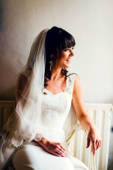 Bride In Stephanie Allin | Images By Steve Gerrard Photography