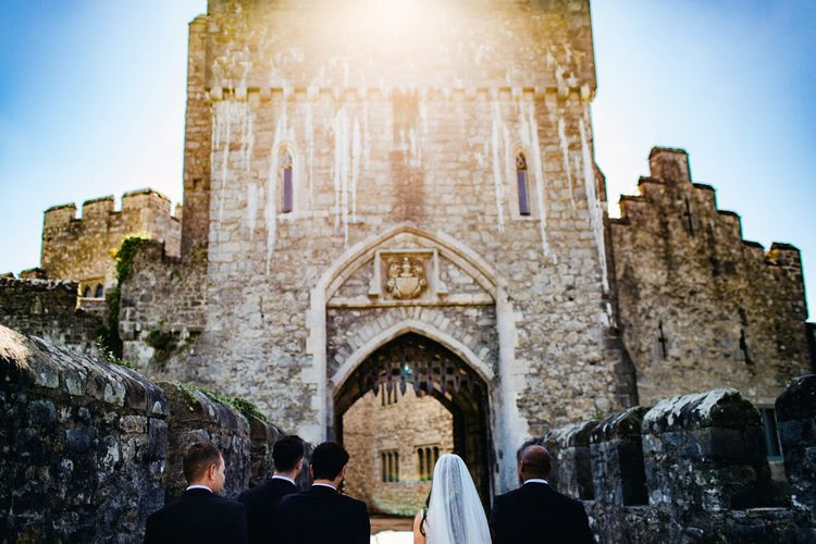 St Donat's Castle Wedding With Pink & Gold Colour Scheme | Images by Steve Gerrard Photography