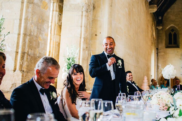 Wedding Speeches | Images by Steve Gerrard Photography