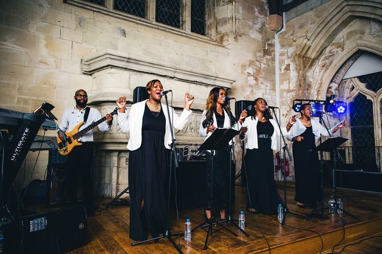 Gospel Choir At Wedding | Images By Steve Gerrard Photography