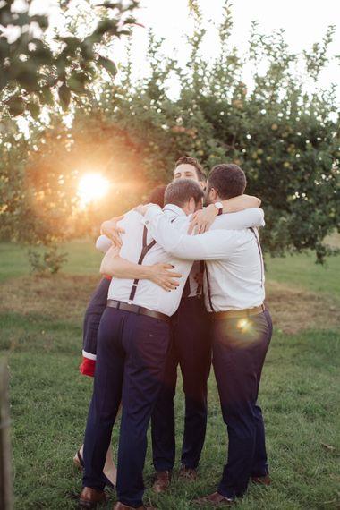 Groomsmen   The Great Barn, Rolvenden Wedding   M & J Photography   Dan Dolan Films