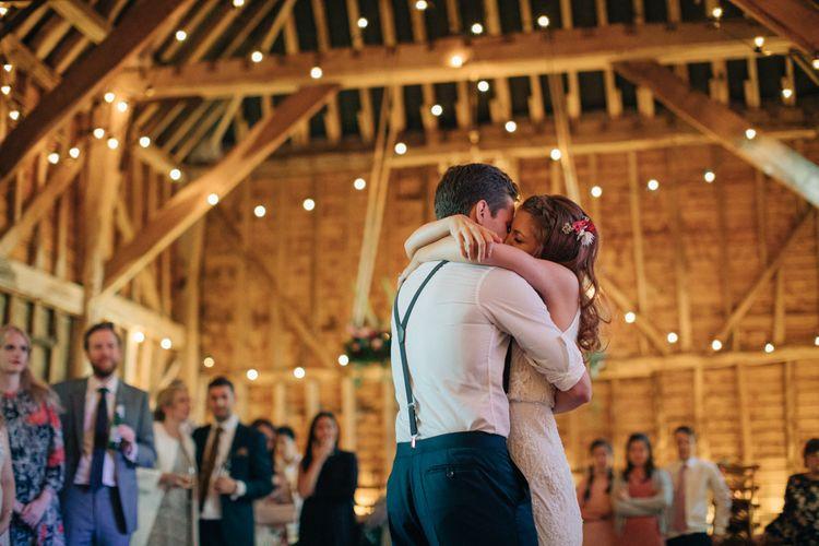 First Dance   The Great Barn, Rolvenden Wedding   M & J Photography   Dan Dolan Films