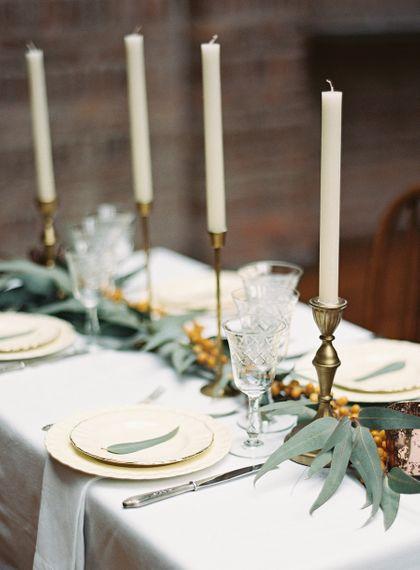 Contemporary Elegant Wedding Styling