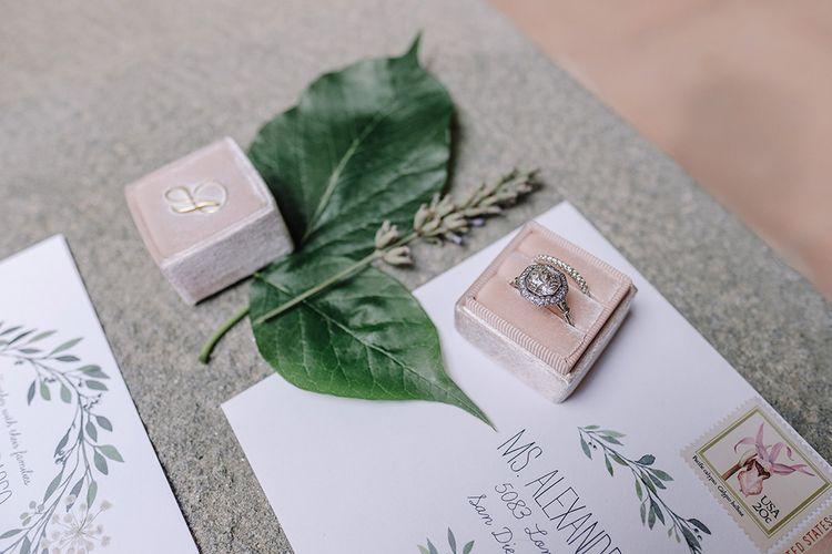 Wedding Stationery   Super Luxe Blush, White & Greenery Destination Wedding at Villa Pitiana, Tuscany, Italy   Jason Mark Harris Photography   Angelo La Torre Film