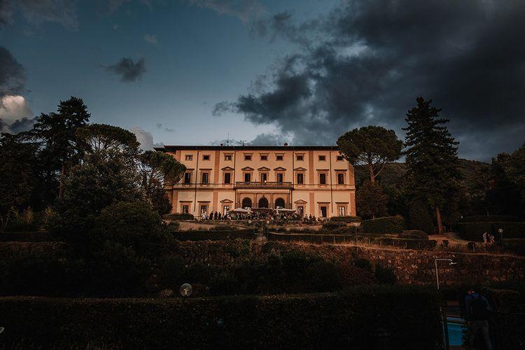 Super Luxe Blush, White & Greenery Destination Wedding at Villa Pitiana, Tuscany, Italy   Jason Mark Harris Photography   Angelo La Torre Film