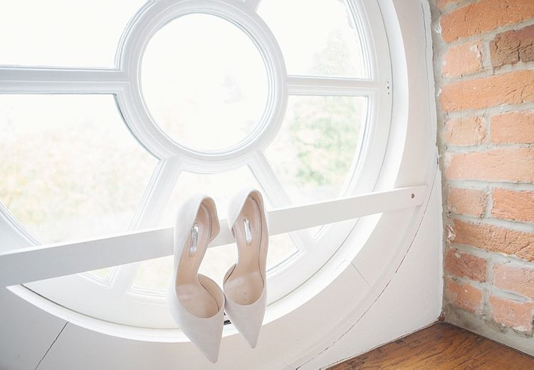 Casadei Ivory Bridal Shoes