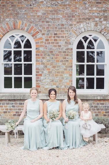 Pale Green Ghost Bridesmaid Dresses