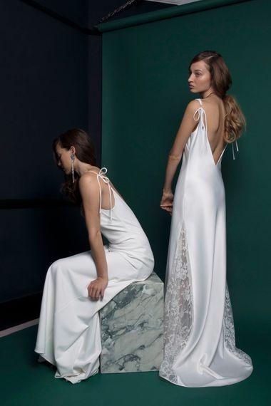 Elegant Bridal Slip Dress From Halfpenny London