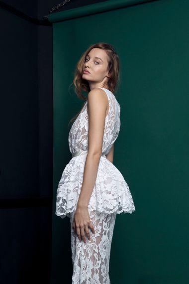 Peplum Skirt For Brides From Halfpenny London