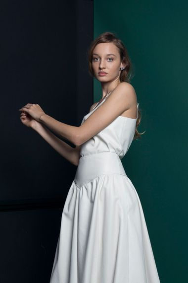 Bridal Culottes From Halfpenny London