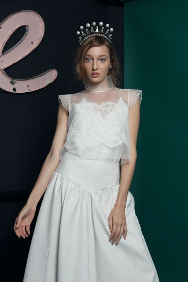 Lace Bridal Top From Halfpenny London