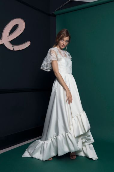 Lace Jacket For Brides Halfpenny London