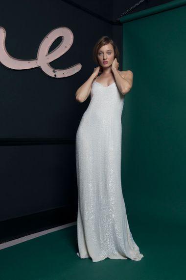 Embellished Slip Dress Halfpenny London