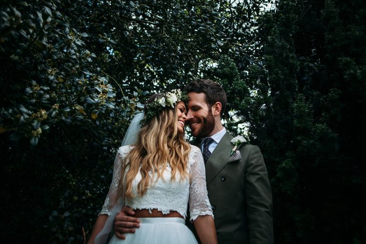 Take Me Out Couple Beckie & Adam Get Married | Bride In Crop Top | Images by Joanna Bongard Photography | Film by Costa Sister Productions