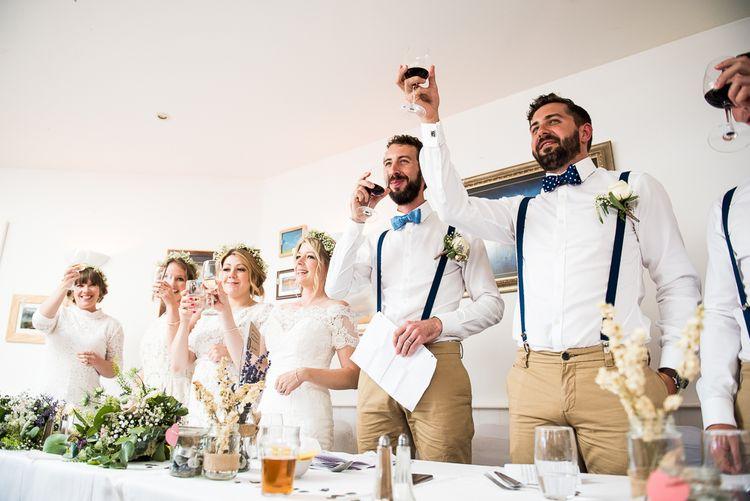 Speeches   Coastal Wedding at Driftwood Spas St Agnes, Cornwall   Jessica Grace Photography