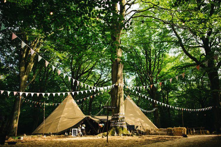 Woodland Tipi Wedding in Sheffield