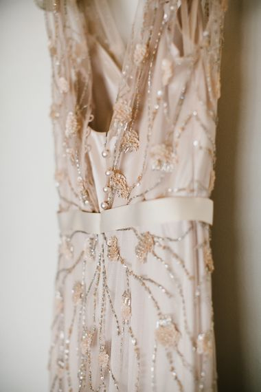 Margot Sequin Wedding Dress from the Dressing Room Bridal Boutique | Chris Barber Photography