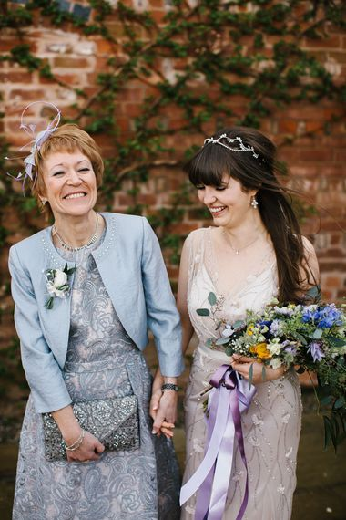 Mother of The Bride | | Bride in Sequin Wedding Dress | Curradine Barns, West Midlands | Chris Barber Photography