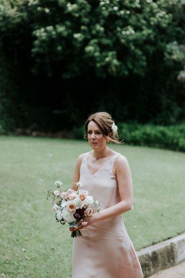 Bridesmaid In Dusky Pink