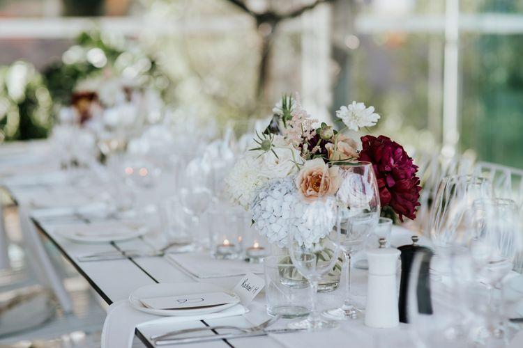 Elegant & Simple Wedding Decor For A Stylish & Intimate Wedding In Sydney