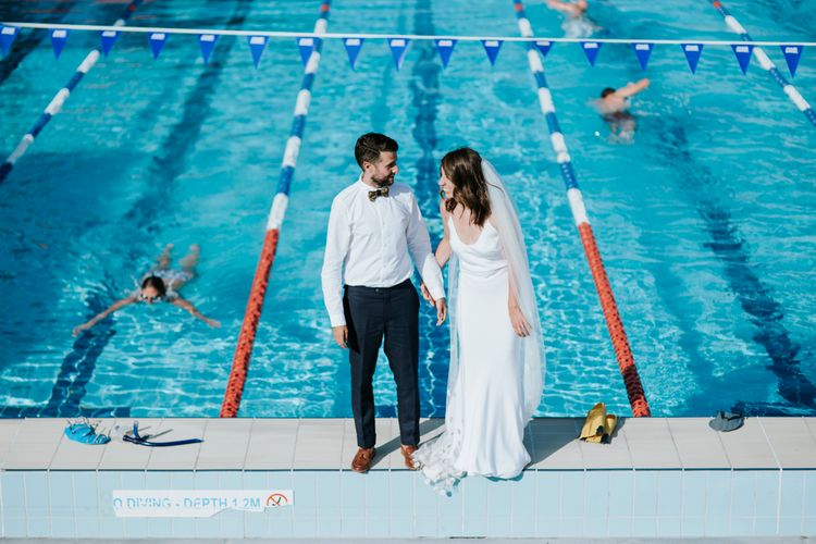 Intimate Wedding In Sydney At Andrew Boy Charlton Poolside Cafe