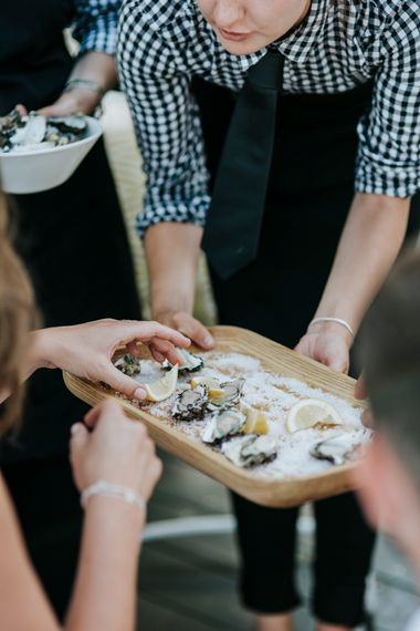 Oysters For Wedding Reception