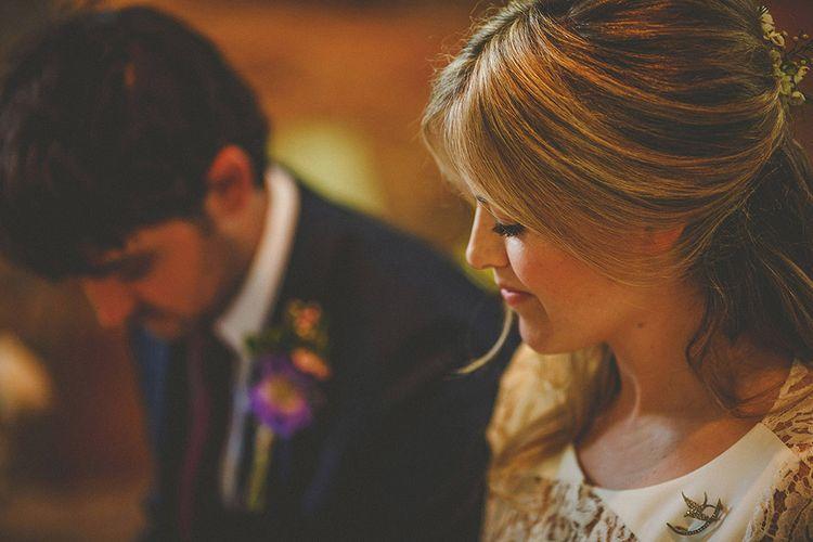 Bride & Groom Church Wedding Ceremony