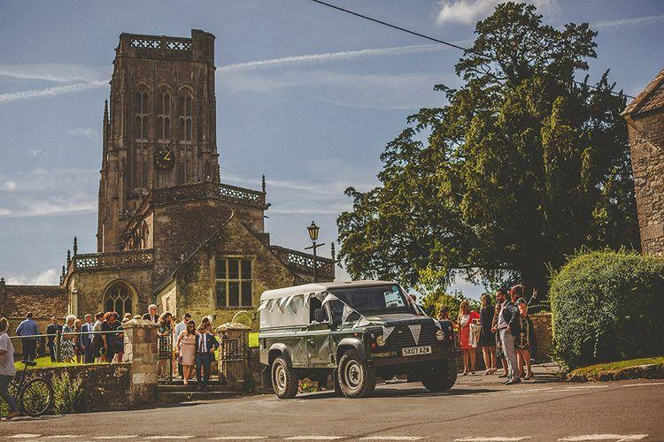 Landrover Wedding Transport