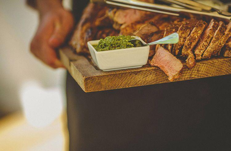 Wedding Food Meat Sharing Platter