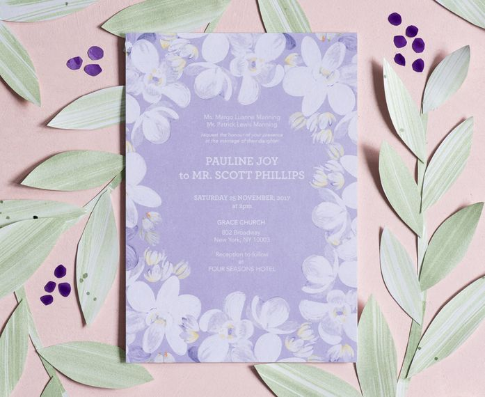 """Orchids Invitation by <a href=""""https://berinmade.com/"""" target=""""_blank"""">Berin Made</a>"""
